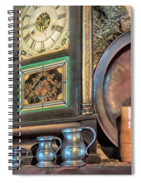 On The Mantle Spiral Notebook