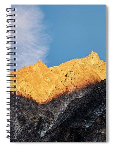 On The Ridge Spiral Notebook