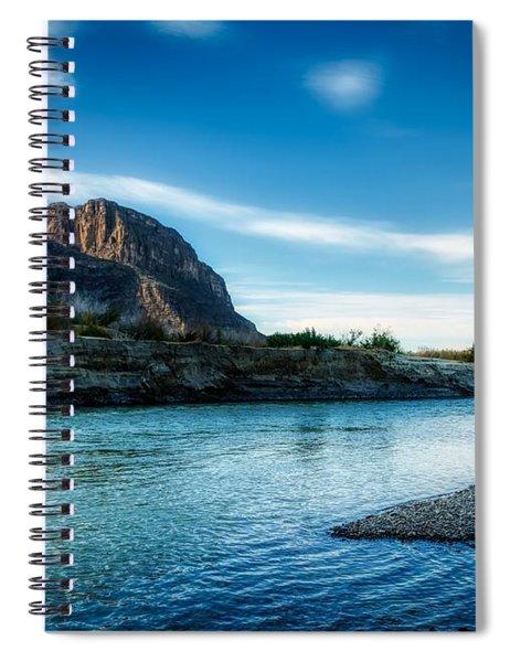 On The Rio Grande River Spiral Notebook