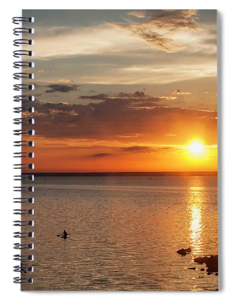 On The Sea Spiral Notebook
