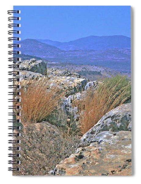 On Top Of Arbel Spiral Notebook