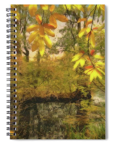 Once A Pond A Time Spiral Notebook