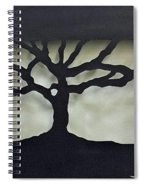 Once An Acorn Spiral Notebook