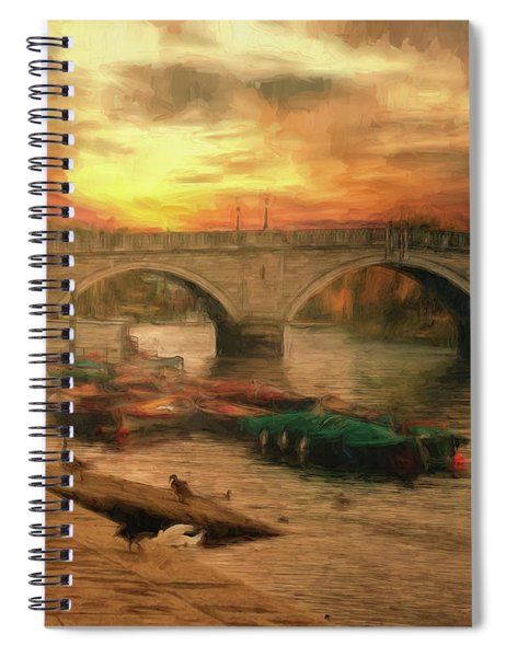 Once More To The Bridge Dear Friends Spiral Notebook