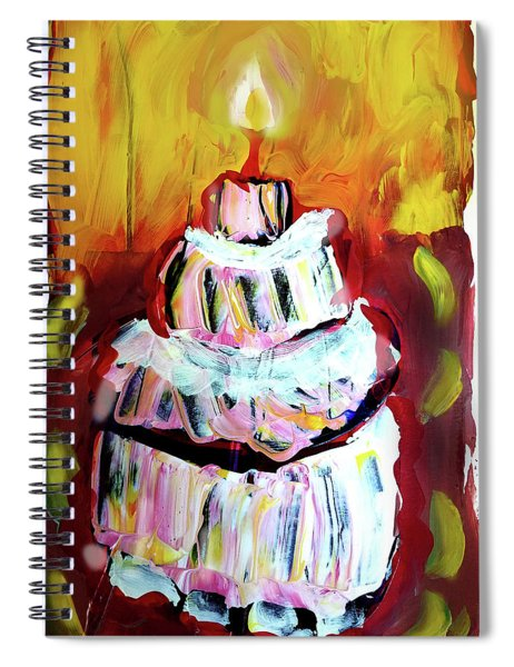 One Candle Spiral Notebook