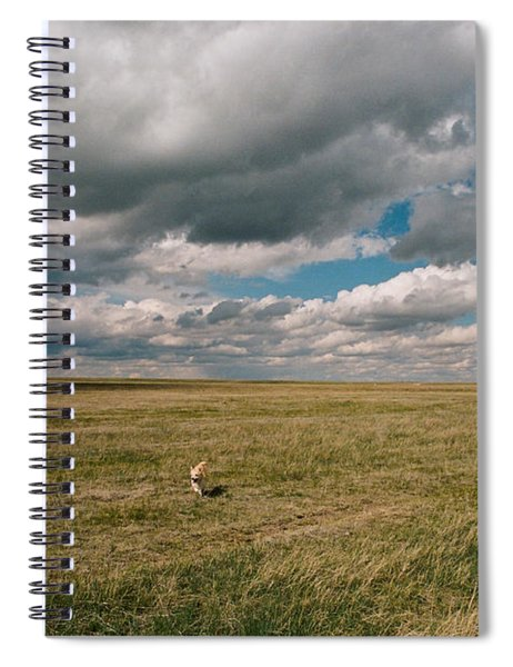 One Happy Dog Spiral Notebook