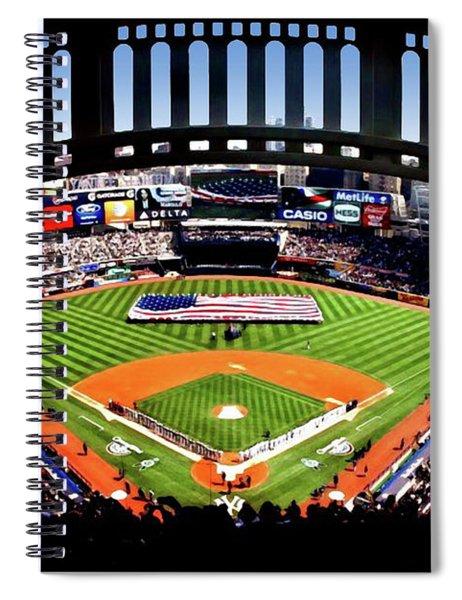 Opening Day Yankee Stadium Spiral Notebook