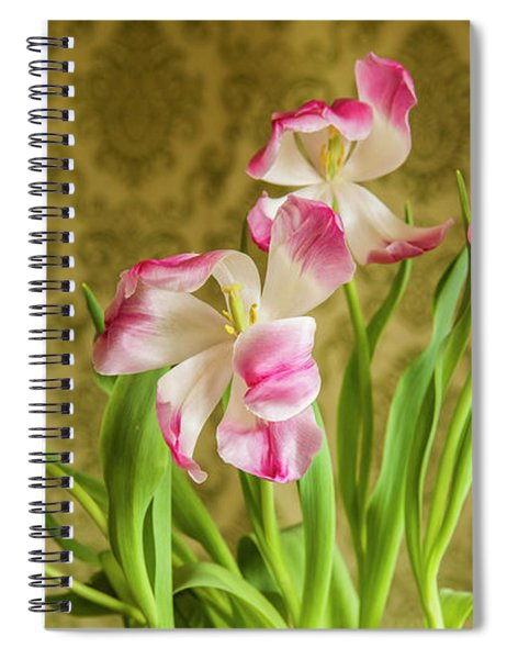 Opening Tulips Spiral Notebook