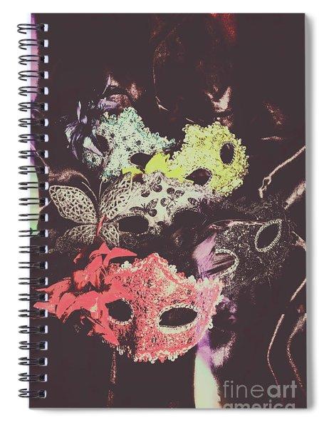 Operatic Quintet  Spiral Notebook