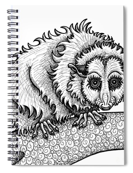 Opossum Spiral Notebook