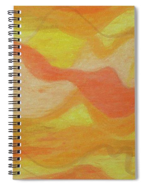 Orange Colors 1 Spiral Notebook