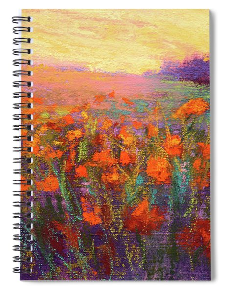 Orange Embrace Spiral Notebook