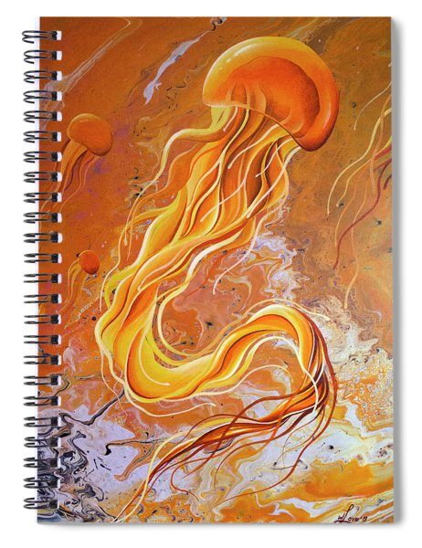 Orange Jelly Spiral Notebook