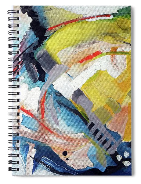 Orange Juice Mix Spiral Notebook