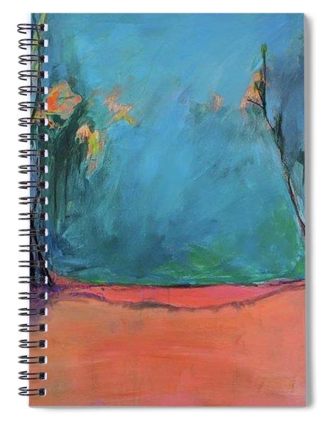 Orange Lake Spiral Notebook