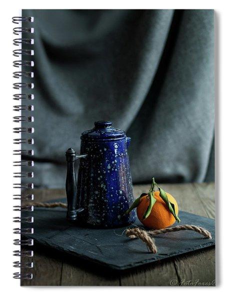 Orange Tea Spiral Notebook