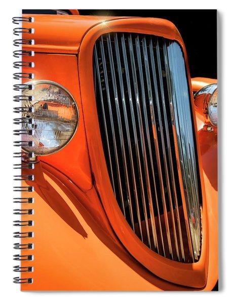 Orange Vision II Spiral Notebook