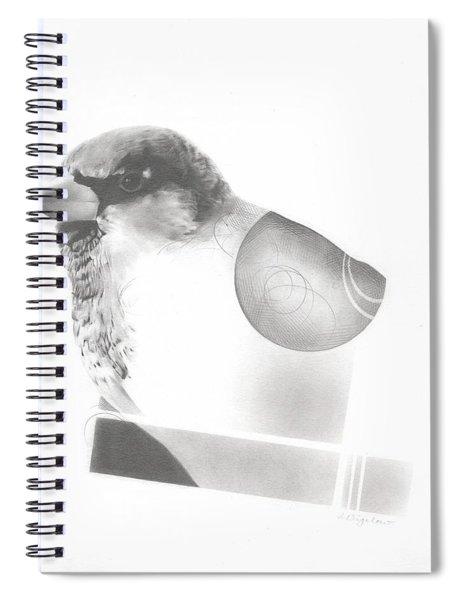 Orbit No. 7 Spiral Notebook
