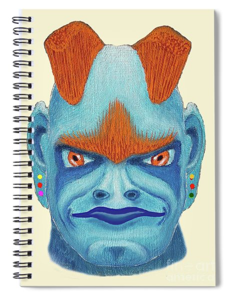 Orbyzykhan The Great Spiral Notebook