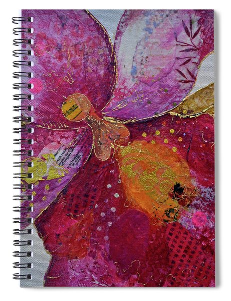 Orchid Passion I Spiral Notebook