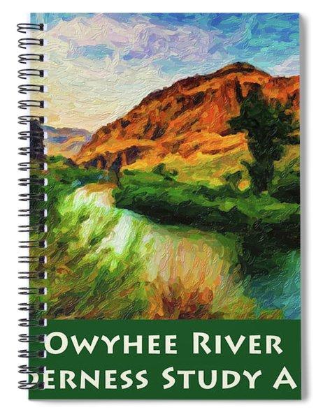 Owyhee River Wsa Spiral Notebook