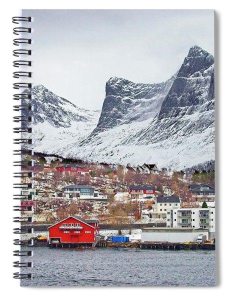 Ornes Village Norway Spiral Notebook
