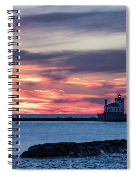 Oswego Light Spiral Notebook