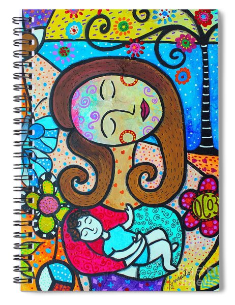 Our Circle Of 3 And Mee Spiral Notebook