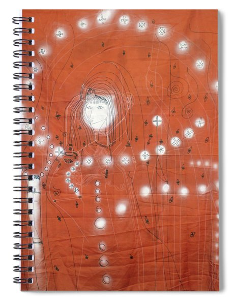 Our Lady Of Asia Mother Of Jesus Christ Spiral Notebook