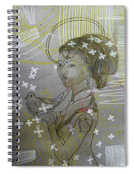 Our Lady Of Asia Queen Of Peace Spiral Notebook