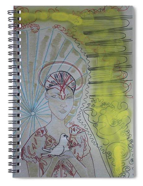 Our Lady Of Asia Queen Of Peace Saint Mary Spiral Notebook