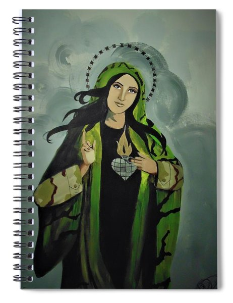 Our Lady Of Veteran Suicide Spiral Notebook