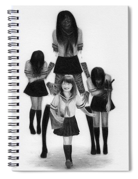 Our Last School Days - Artwork Spiral Notebook