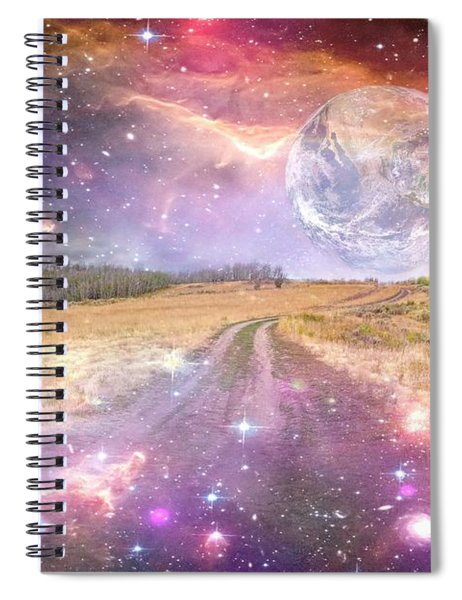 Our Place In The Universe Spiral Notebook