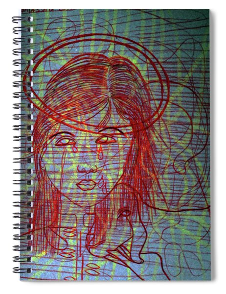 Ourlady Of Asia Divine Shepherdess Spiral Notebook