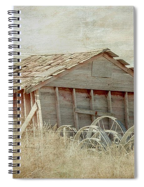 Out In The North 40 Spiral Notebook