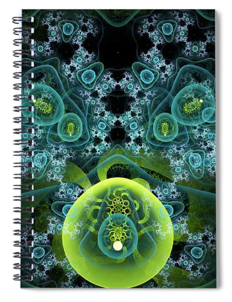 Out Of Focus Spiral Notebook