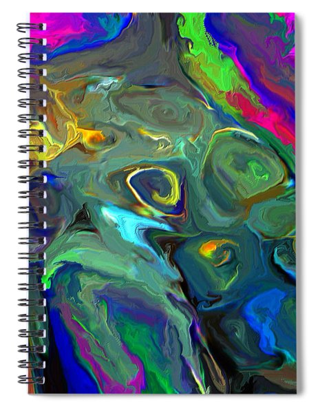 Out Of Shape Spiral Notebook