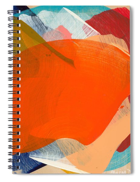 Out Of The Blue 11 Spiral Notebook