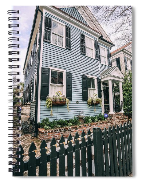 Out Of The Clear Blue Spiral Notebook