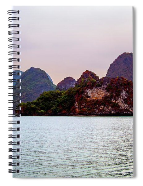 Out To Sea - Halong Bay, Vietnam Spiral Notebook