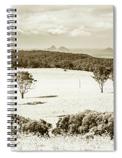Outback And Beyond Spiral Notebook