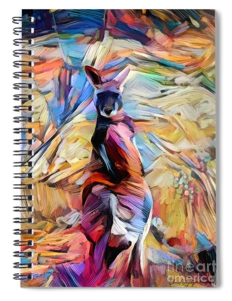 Outback Roo Spiral Notebook
