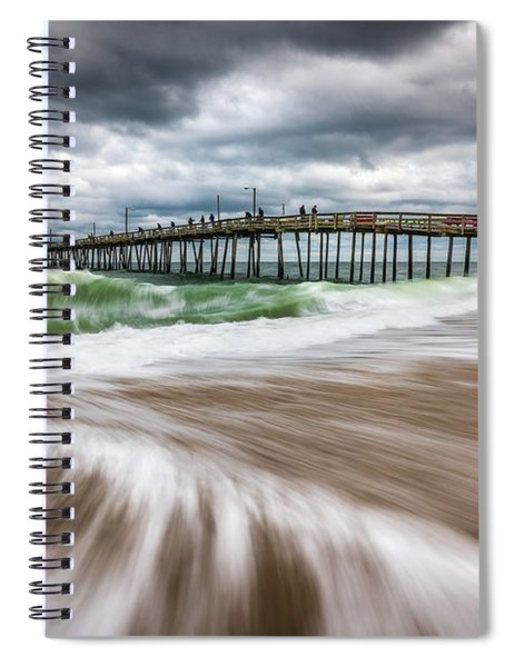 Outer Banks Nc North Carolina Beach Seascape Photography Obx Spiral Notebook