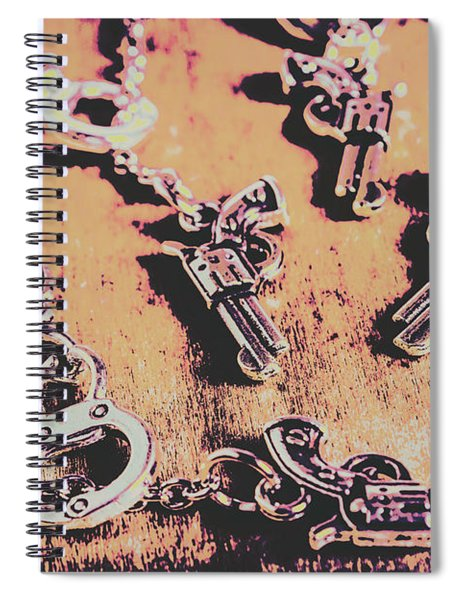Outlaw Frontiers Spiral Notebook
