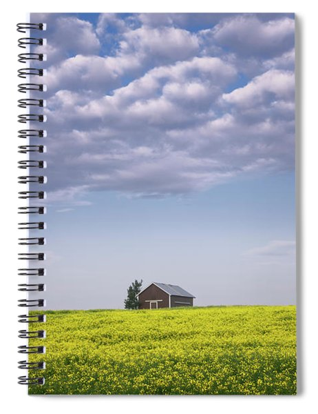 Outstanding In Its Field Spiral Notebook