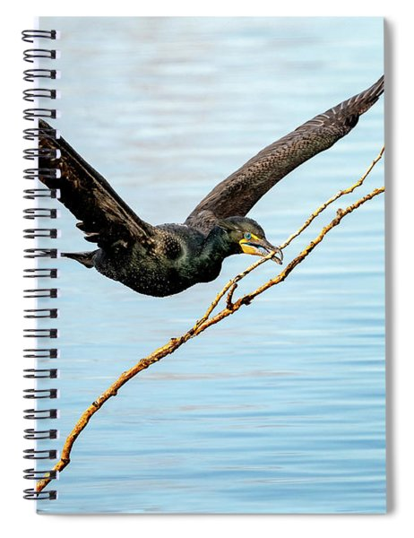 Over-achieving Cormorant Spiral Notebook