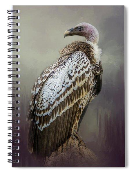 Over Her Shoulder Spiral Notebook