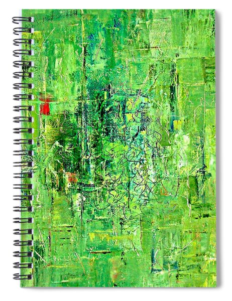 Over The Dam Spiral Notebook