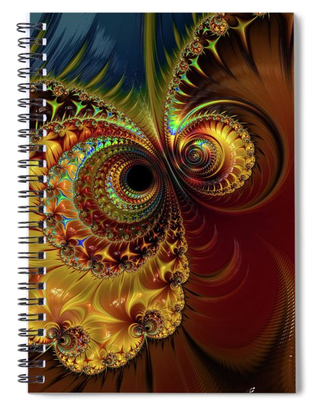 Owl Eyes Spiral Notebook